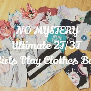 🍂25 Item 2T/3T Girls No Mystery Box, Play Clothes